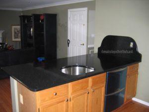 Black Galaxy Granite Kitchen Countertops NYC